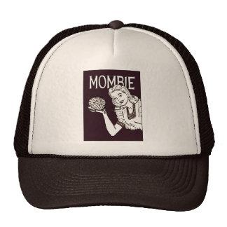 Mombie Retro Zombie Trucker Hat