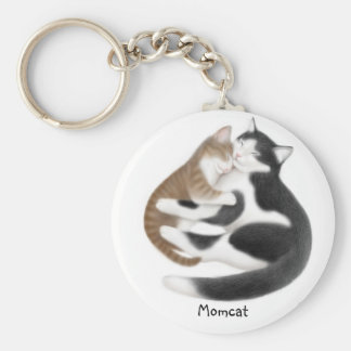 Momcat Keychain