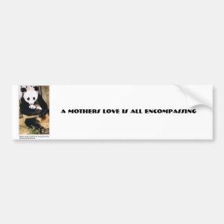 momcub-big[1], A Mothers Love Is All Encompassing Bumper Sticker