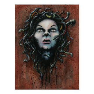 Moment of Decapitation, Head of Medusa Prints Posters