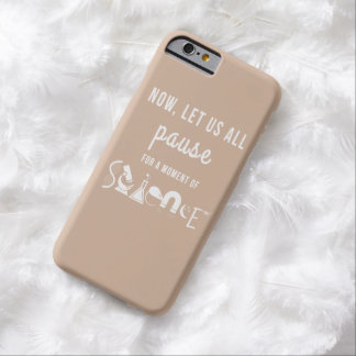 Moment of Science Beige iPhone 6 Case