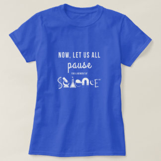 Moment of Science Blue T-Shirt
