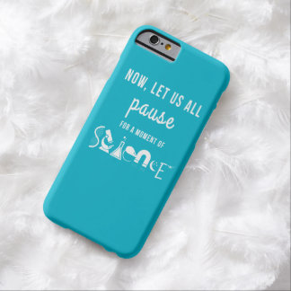 Moment of Science Bright Blue iPhone 6 Case