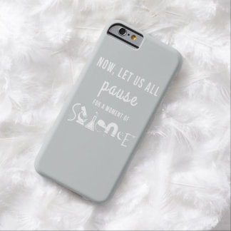 Moment of Science Light Gray iPhone 6 Case