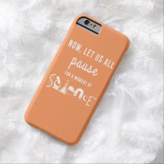 Moment of Science Orange iPhone 6 Case