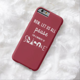 Moment of Science Red iPhone 6 Case