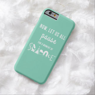 Moment of Science Turquoise iPhone 6 Case