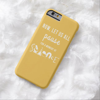 Moment of Science Yellow iPhone 6 Case