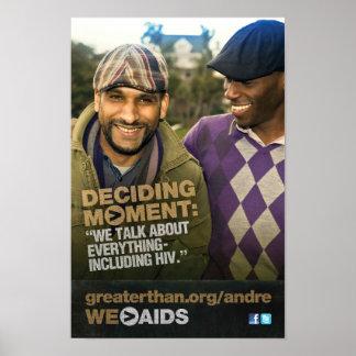 Momento de decisión: Poster de Andre