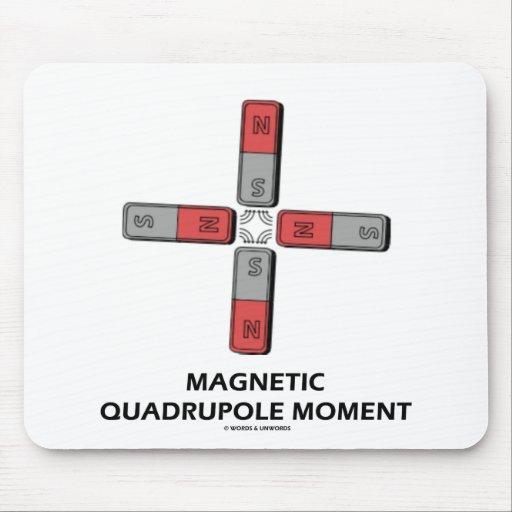 Momento de tetrapolo magnético (magnetismo) tapete de raton