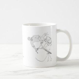 Momento giratorio taza de café