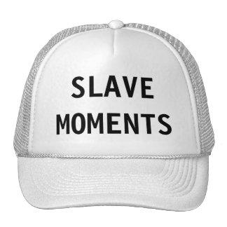Momentos auxiliares del gorra