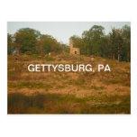 momentos de Gettysburg, PA Tarjeta Postal