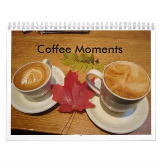 Momentos del café calendarios