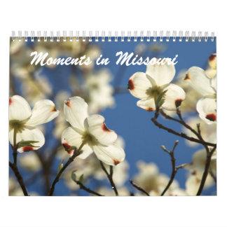 Momentos en Missouri Calendario