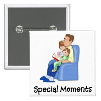 Momentos especiales pin cuadrado