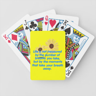 MOMENTS BICYCLE PLAYING CARDS