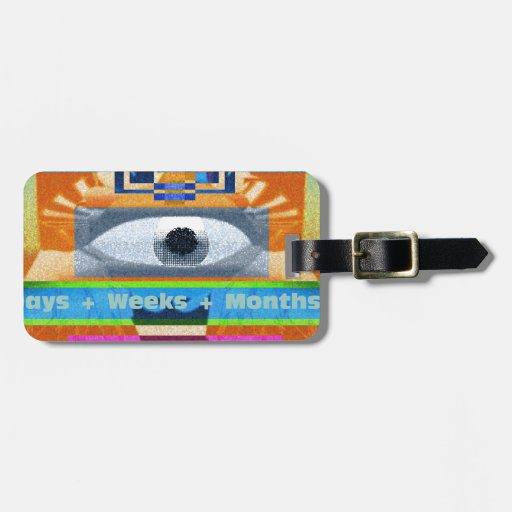 Moments Days Months Lives Tags For Luggage