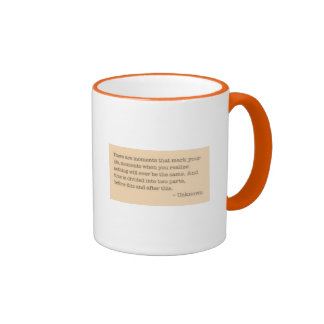 Moments quote mugs