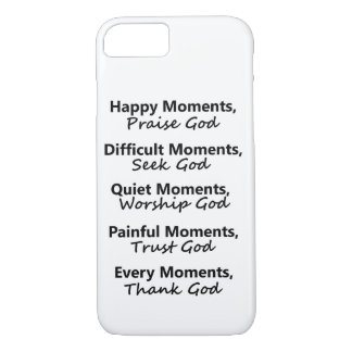 Moments with God iPhone 8/7 Case