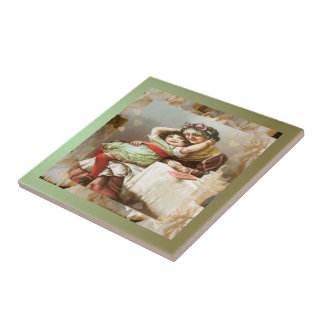 Moments with Grandma ~ Ceramic Tile