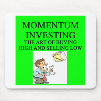 momentum investing mouse pad