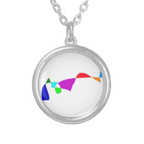 Momentum Silver Plated Necklace