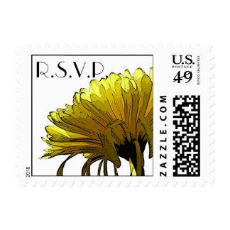 Momia amarilla RSVP Sello