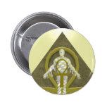 Momia - botón de Halloween Pins