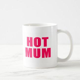 Momia caliente taza de café