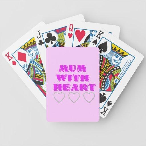 Momia con el corazón cartas de juego