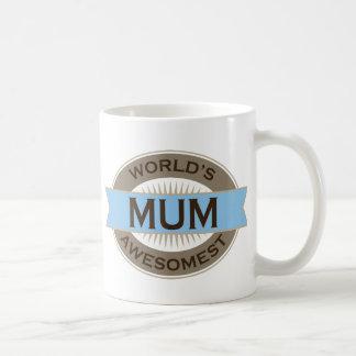 Momia de Awesomest de los mundos Taza De Café