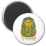 Momia de Tutankhamun, el rey antiguo Tut de Egipto Iman De Nevera