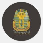 Momia de Tutankhamun, el rey antiguo Tut de Egipto Pegatinas