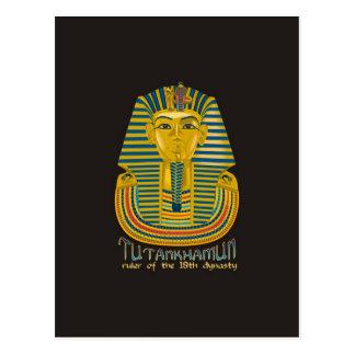 Momia de Tutankhamun, el rey antiguo Tut de Egipto Postales