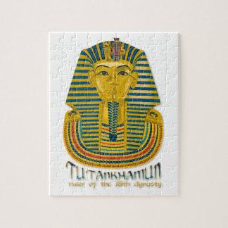 Momia de Tutankhamun, el rey antiguo Tut de Egipto Rompecabeza Con Fotos