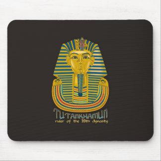 Momia de Tutankhamun el rey antiguo Tut de Egipto Alfombrillas De Ratones