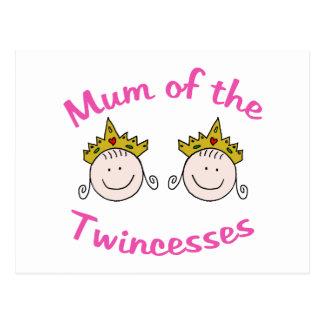 Momia de Twincess Tarjeta Postal