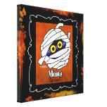 Momia - decoración de Halloween Impresiones En Lona Estiradas