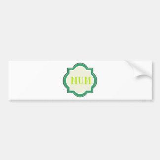 Momia decorativa pegatina de parachoque