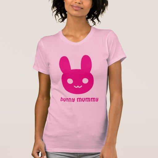 Momia del conejito camisetas