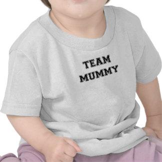 Momia del equipo camiseta