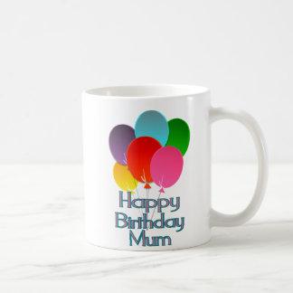 Momia del feliz cumpleaños taza de café