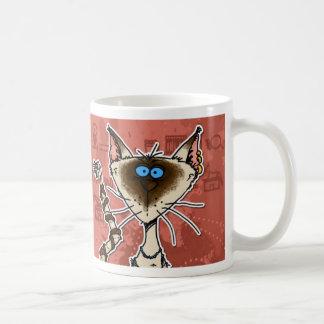 momia del gato taza