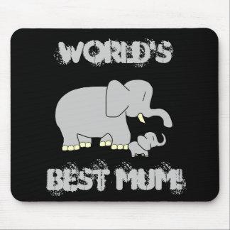 ¡Momia del mundo del amor del colmillo la mejor! M Tapetes De Ratón