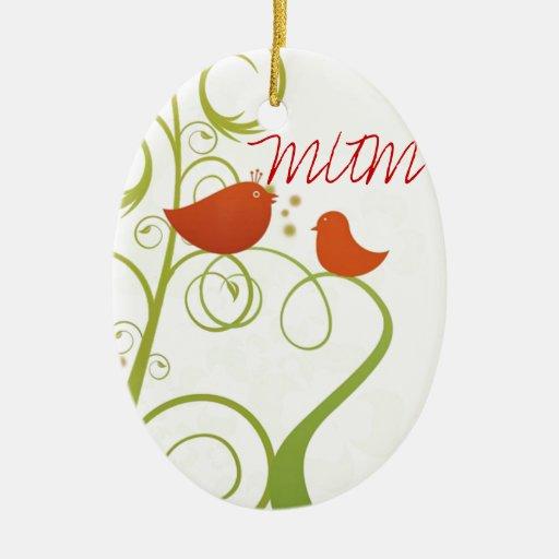 Momia del pájaro de Tweety Ornamentos De Navidad