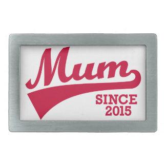 Momia desde 2015 hebilla de cinturon rectangular