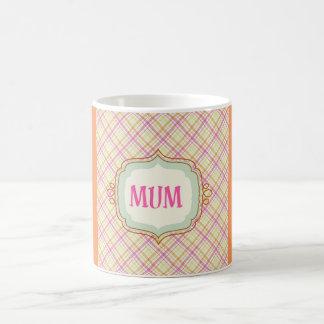 Momia elegante taza de café