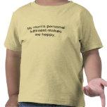momia feliz, feliz yo camiseta