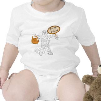 Momia Halloween del truco o de la invitación Traje De Bebé